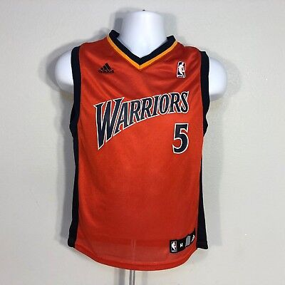 839653441f7 Baron Davis Golden State Warriors Adidas NBA jersey youth size M (10-12)
