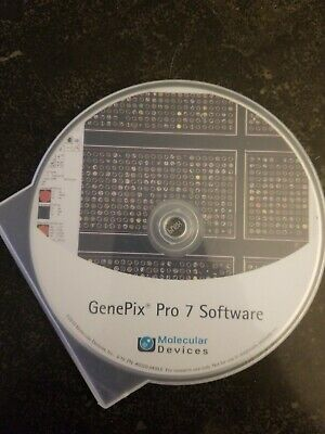 Molecular Devices Axon GenePix 4000B Microarray Scanner Software GenPix Pro 7