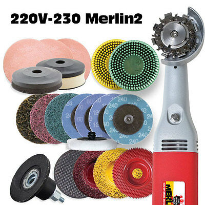 European Merlin 2  Deluxe Woodcarving Tool Worlds Smallest Chain Saw #10112As