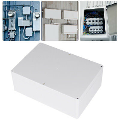 Big Digital Plastic Waterproof IP65 Junction Terminal Box Indoor Outdoor +Screws