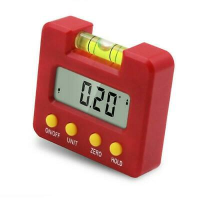 Cube Inclinometer Gauge Angle Meter Digital Protractor Electronic LCD Level Box