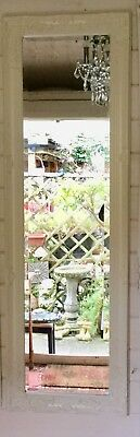 French Antique Style/Country Cottage/Shabby Chic -cream Full Length Mirror