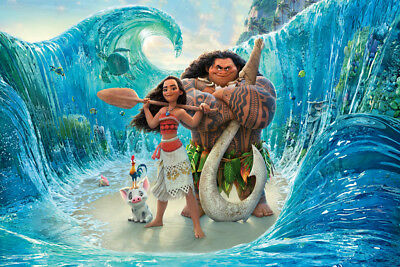 MOANA V2 LAMINATED ART POSTER 24x36in (61x91cm)