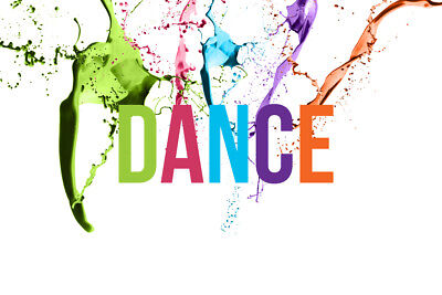DANCE V1 LAMINATED ART POSTER 24x36in (61x91cm)