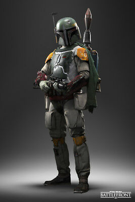 STAR WARS BOBA FETT V2 LAMINATED ART POSTER 24x36in (61x91cm)