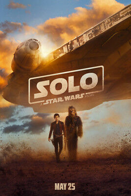 Solo Han 2018 V2 LAMINATED ART POSTER 24x36in (61x91cm)
