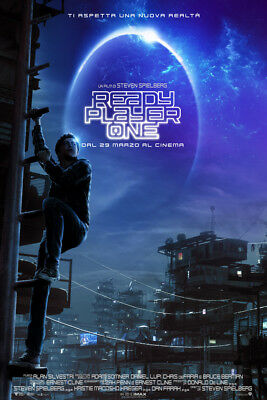 Ready Player One V2 LAMINATED ART POSTER 24x36in (61x91cm)
