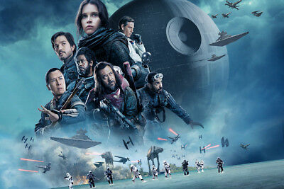 ROGUE ONE V2 LAMINATED ART POSTER 24x36in (61x91cm)