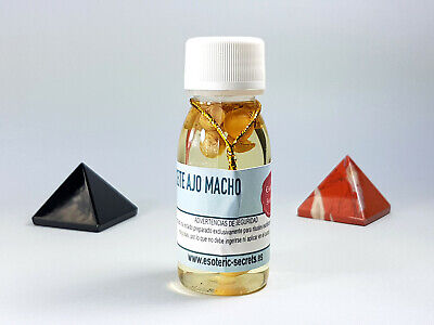 Aceite Esotérico AJO MACHO / MALE GARLIC Esoteric Oil - Ritual Spell Witchcraft