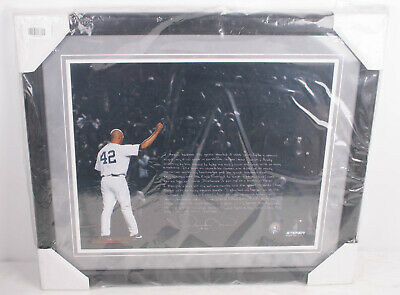 MLB New York Yankees Framed 16x20 Mariano Rivera' Faksimile