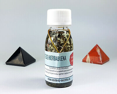Aceite Esotérico HIERBABUENA / PEPPERMINT Esoteric Oil - Ritual Spell Witchcraft