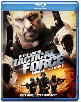 "Tactical Force (Blu-ray, 2011,WS) -  Steve (""Stone Cold"") Austin  NEW"
