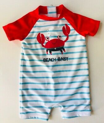 b871a383aa GYMBOREE Infant Boy One-Piece Swimsuit NWOT 3-6 months New Without Tags