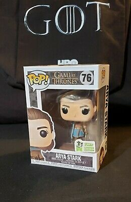 Game of Thrones FUNKO Pop! ARYA STARK #76 Vinyl ECCC 2019 Official Exclusive HBO