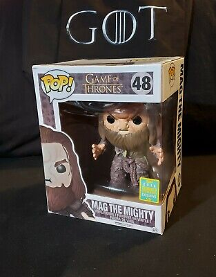 Game of Thrones FUNKO Pop! MAG THE MIGHTY #48 SDCC 2016 Shared Exclusive w/ Case