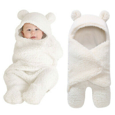 Kids Bed Cover Baby Clothes Bedding Blanket Newborn Baby Plush Bag Swaddle Wrap