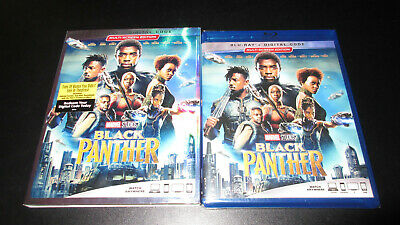 Black Panther Blu-ray with slipcover from Disney Movie Club