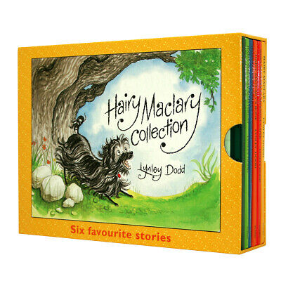NEW Hairy Maclary Favourite Stories Lynley Dodd 6 Books Collection Kids Gift Set