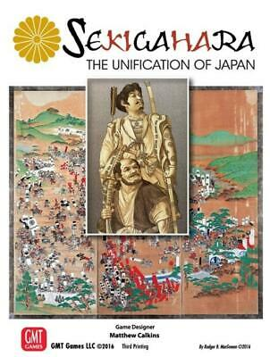 GMT Wargame Sekigahara - The Unification of Japan (2018 Edition) Box SW