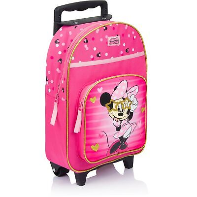 9be1819412 DISNEY MINNIE MOUSE Zaino Trolley Valigia per Bambini Con - EUR 41 ...