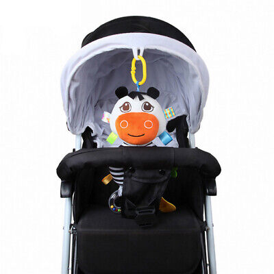 Rattle Plush Toys Baby Crib Hanging Toy Infant Stroller Car Seat Bed Toy HD