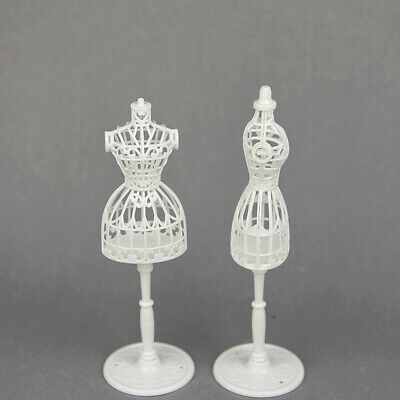 2Pcs 1/6 Doll Display Holder Dress Clothes Gown Mannequin Model Supporter