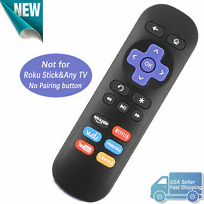 New Roku Remote Replacement Control for Roku1 Roku 2 Roku 3 with Netflix Youtube