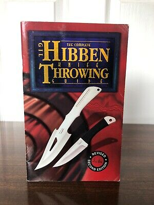 The Complete Gil Hibben Knife Throwing Guide Rare Vintage Excellent Condition