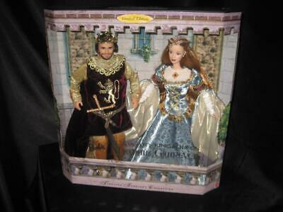 Camelot King Arthur Queen Guinevere Giftset Camelot's King & Queen 23880 NRFB