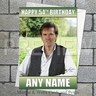 FOR FANS OF DANIEL O/'DONNELL Personalised Birthday Card! ANY NAME...GREAT !