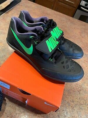 79b27d304715 Nike Zoom Rotational 6 Shot Put Discus Throwing Men s Size 11 Black  685131-035