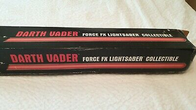 Star Wars Darth Vader Force Fx Lightsaber Collectible Full Scale Master Replicas