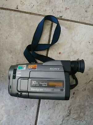 SONY HANDYCAM CCD-TRV52 Video8 CAMCORDER 8mm Charger TESTED