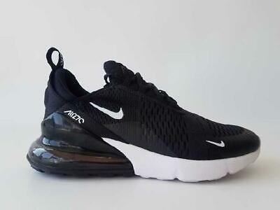 size 40 bb517 a2ba9 Nike Air Max 270 Size uk 4 eur 36.5 boys JUNIOR trainers good condition  black