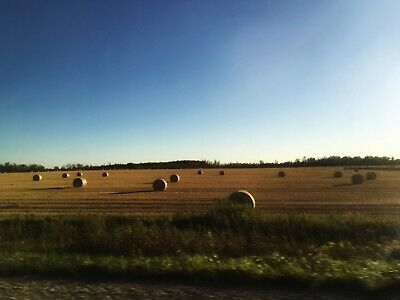 Digital Photo Picture Image - Haystack Rolls - Free Shipping