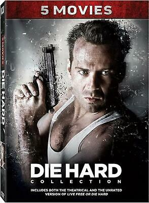 Die Hard 5-Movie Collection (5 Dvd) [Edizione in lingua inglese]