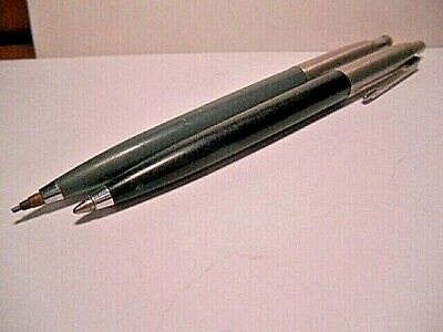 Vintage Parker Ballpoint Pen & Mechanical Pencil - Working