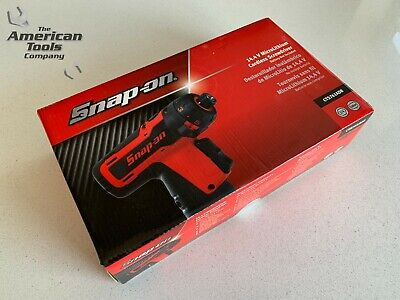 "*NEW* Snap On 14.4 V 1/4"" Hex MicroLithium Cordless Screwdriver CTS761ADB"