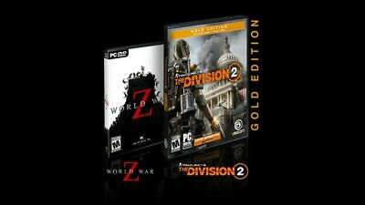 The Division 2 Gold + World War Z for PC! AMD 50th Anniversary gift!(see notes)