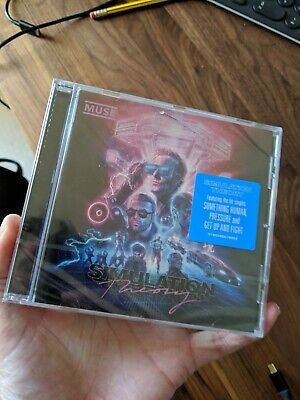 MUSE Simulation Theory (Deluxe) - New CD Album / Free Delivery