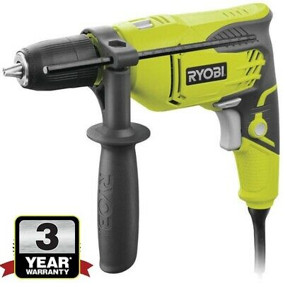 Ryobi Compact Percussion Hammer Drill 500W Corded 240V New Sealed Box