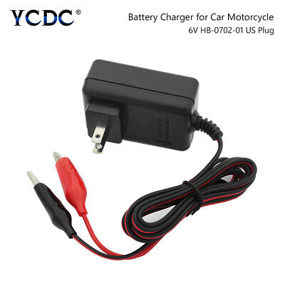 Rechargeable Sealed Lead Acid Battery Charger For 6V DC7.2V 1.0A  AC100-240V US