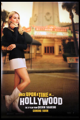 Once Upon A Time In Hollywood Tarantino Margot Robbie 2019 Ds 1-Sheet Mint
