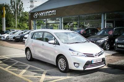 2016 66 TOYOTA VERSO 1.6 D-4D Icon TSS Nav/Leather 5dr in Silver