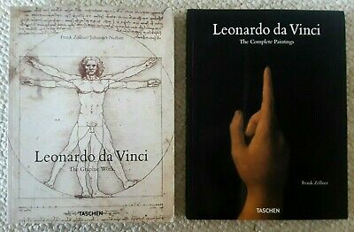 2 Frank Zollner, Leonardo Da Vinci Complete Paintings & Graphic Works # 1 & 2