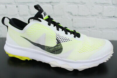 8dd8407e9f1b1 NIKE FI BERMUDA 776121-101 Mens Spikeless Golf Shoes Size 11 ...