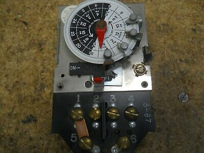 Precision CD103MB 24 Hr. Dial Time Switch
