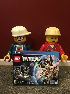 Lego PlayStation 4 DIMENSIONS Starter Pack - 71171 - Complete