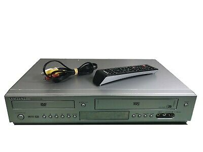 SAMSUNG DVD-5500 DVD / VCR Combo 6 Head Player Original Remote (GREAT PICTURE)