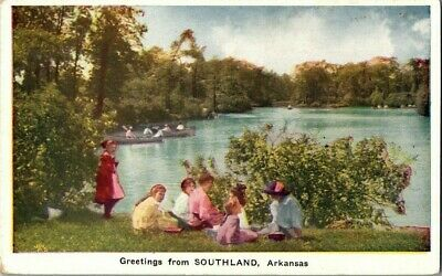 1918. GREETINGS FROM SOUTHLAND, ARKANSAS. POSTCARD w11